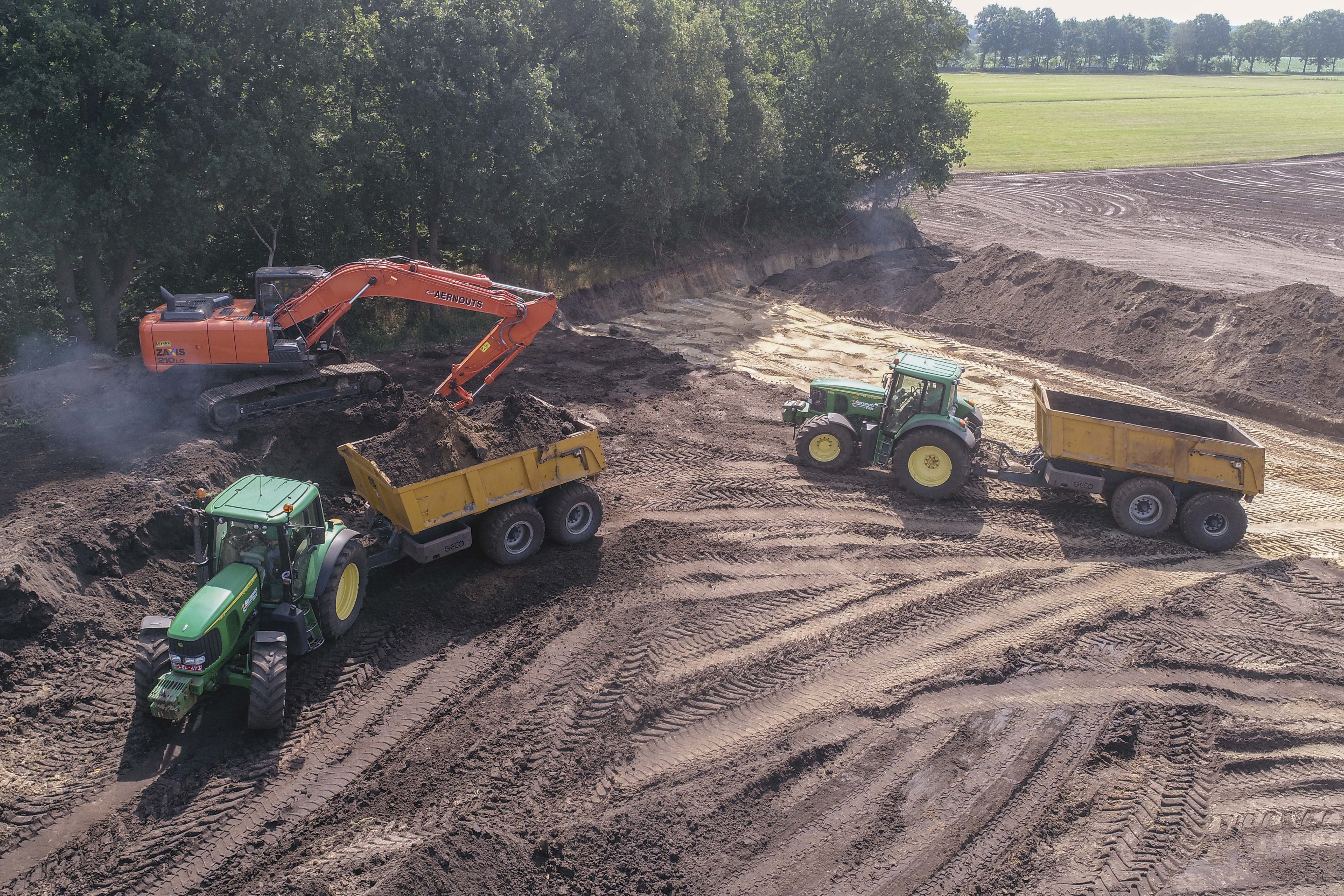 grond dumper huren?