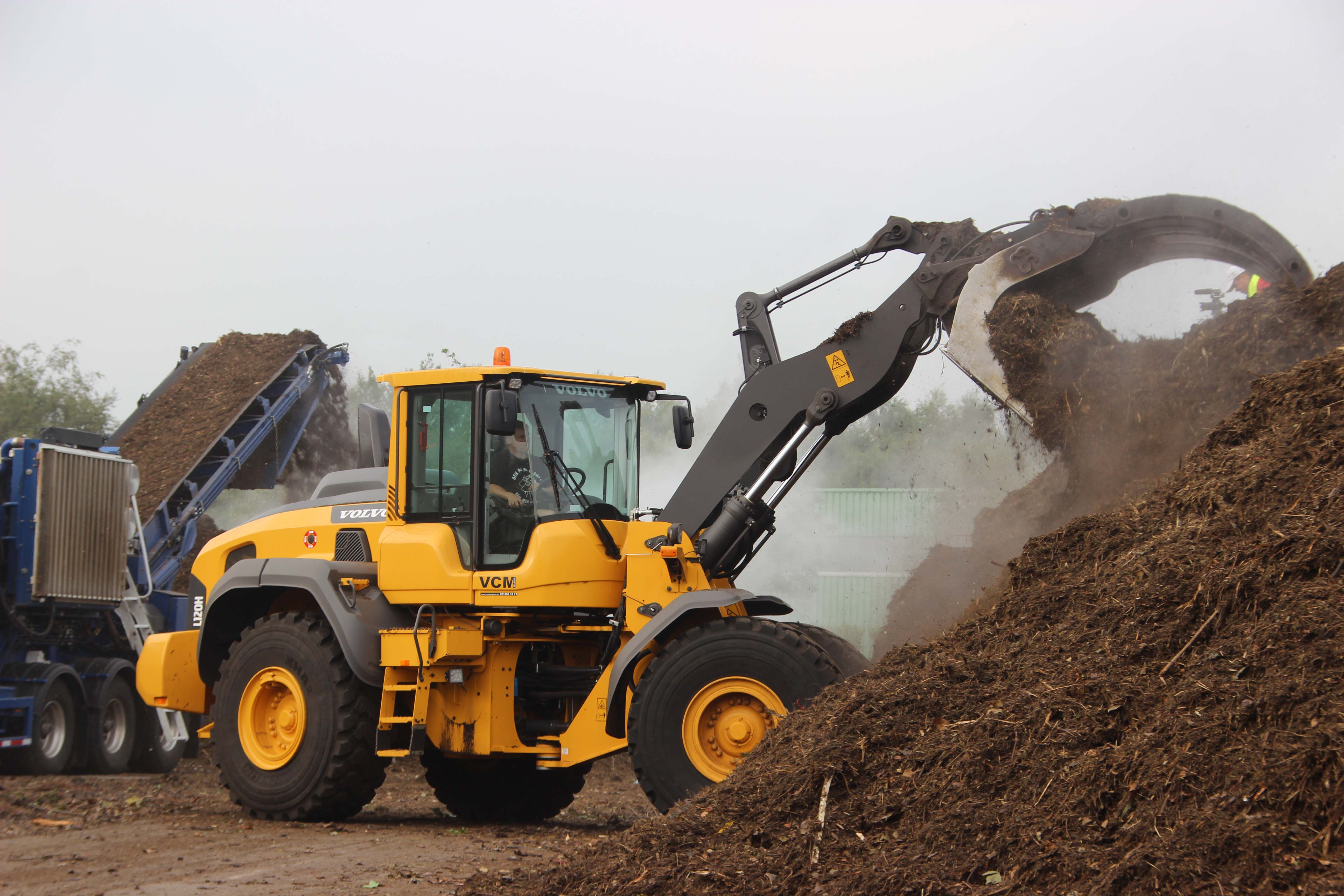 shovel/ loader huren? west brabant belgie